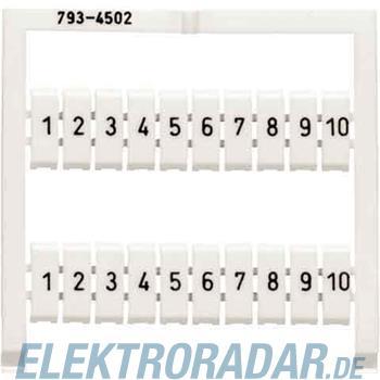 WAGO Kontakttechnik WMB-Bezeichnungssystem 793-4501