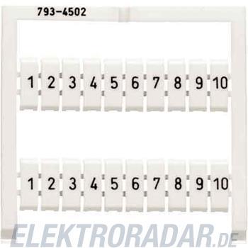 WAGO Kontakttechnik WMB-Bezeichnungssystem 793-4507