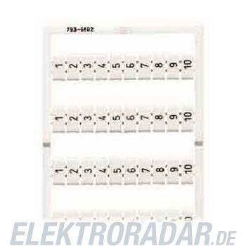 WAGO Kontakttechnik WMB-Bezeichnungssystem 793-4618