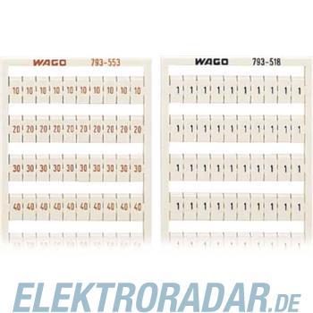WAGO Kontakttechnik WMB-Bezeichnungssystem 793-519