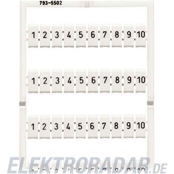WAGO Kontakttechnik WMB-Bezeichnungssystem 793-5506