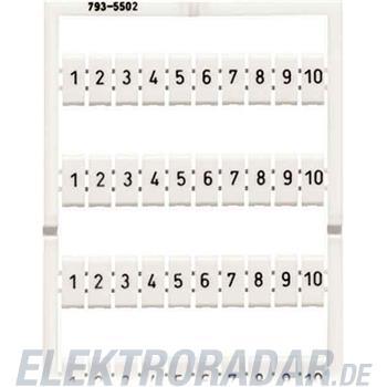 WAGO Kontakttechnik WMB-Bezeichnungssystem 793-5509