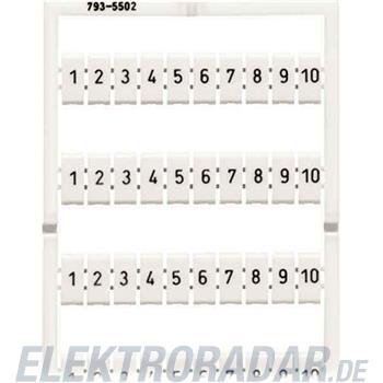 WAGO Kontakttechnik WMB-Bezeichnungssystem 793-5511