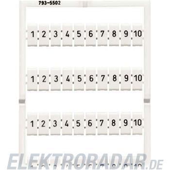 WAGO Kontakttechnik WMB-Bezeichnungssystem 793-5512