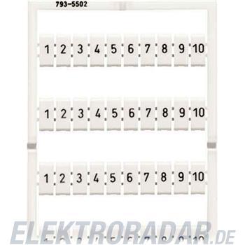 WAGO Kontakttechnik WMB-Bezeichnungssystem 793-5513