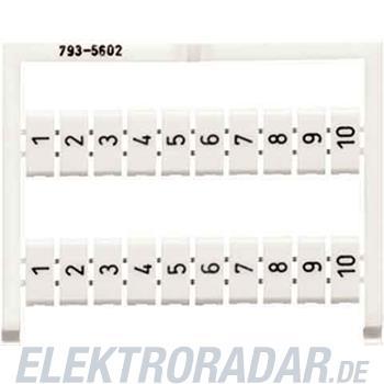 WAGO Kontakttechnik WMB-Bezeichnungssystem 793-5602