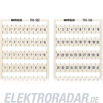 WAGO Kontakttechnik WMB-Bezeichnungssystem 793-599