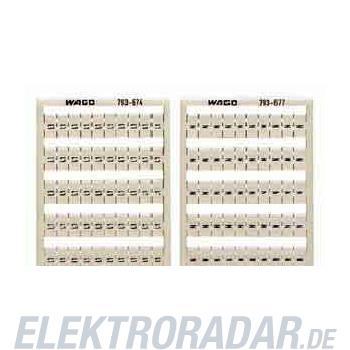 WAGO Kontakttechnik WMB-Bezeichnungssystem 793-674