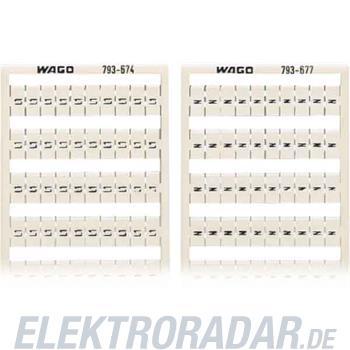 WAGO Kontakttechnik WMB-Bezeichnungssystem 793-677