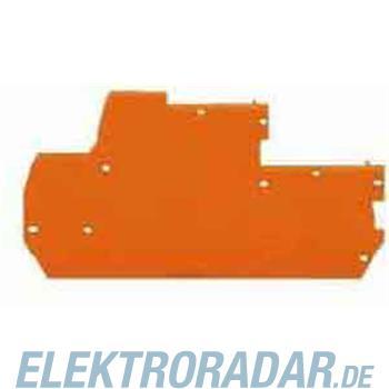 WAGO Kontakttechnik Abschlussplatte 870-118