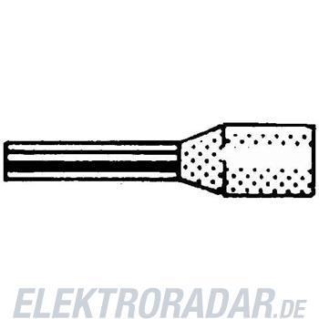 Weidmüller Aderendhülse H0,75/18D GR