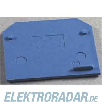 Weidmüller Abschlussplatte AP SAK4-10 KRG/BL