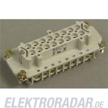 Weidmüller Steckverbinder-Einsatz HDC HE 16 FS 17-32