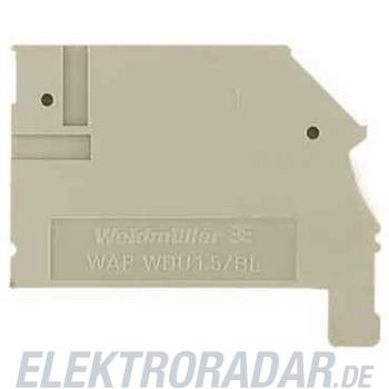 Weidmüller Abschlussplatte WAP WDU1.5/BLZ/ZA