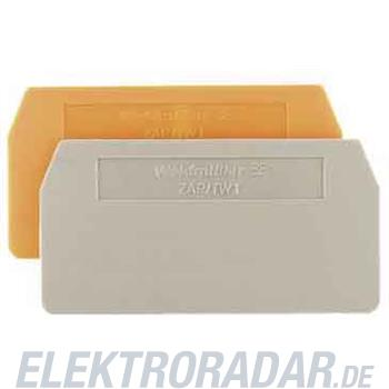 Weidmüller Abschlussplatte ZAP/TW 1 OR
