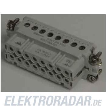 Weidmüller Steckverbinder-Einsatz HDC HA 16 FS