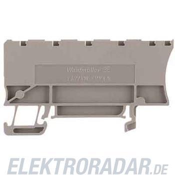 Weidmüller Abschlussplatte ZAP/TW ZPV1.5