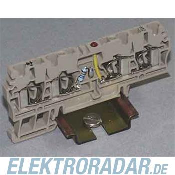 Weidmüller Klemme mit Einbau ZDU 2.5/2X2AN/LD+