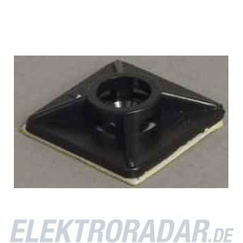 Weidmüller Kabelbinderhalter CBH 26.3/26.3 BLACK