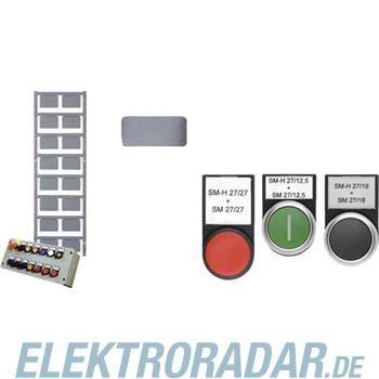 Weidmüller Gerätemarkierer ETO SM 27/18 TRANSP.