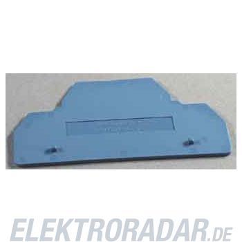 Weidmüller Abschlussplatte ZAP/TW ZDK2.5 BL