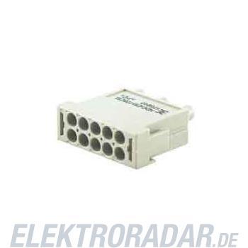 Weidmüller Steckverbinder-Einsatz HDC CM 10 MC