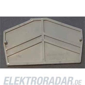 Weidmüller Abschlussplatte ZAP ZDU4-2