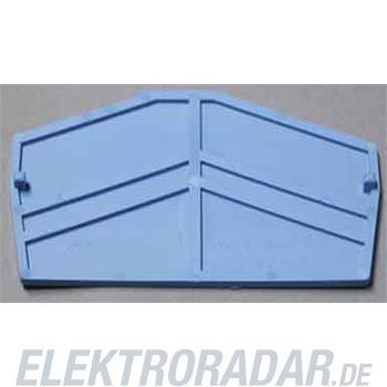 Weidmüller Abschlussplatte ZAP ZDU4-2 BL
