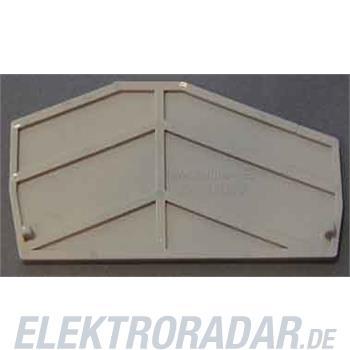 Weidmüller Abschlussplatte ZAP ZDU6-2