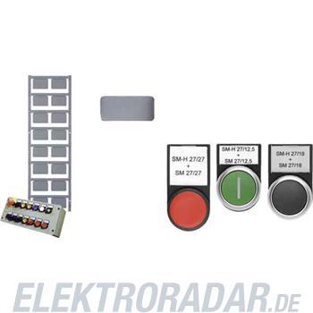 Weidmüller Gerätemarkierer SM 27/27 Neutral SI