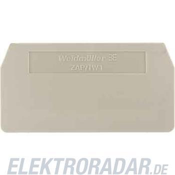 Weidmüller Abschlussplatte ZAP/TW ZDU1.5/2AN BL