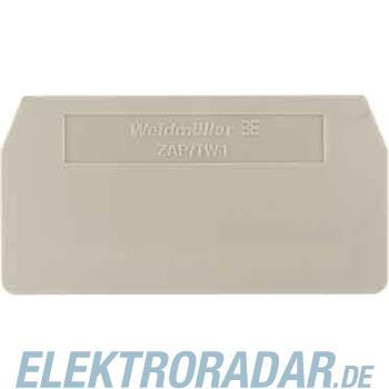 Weidmüller Abschlussplatte ZAP ZDU 6 S BL