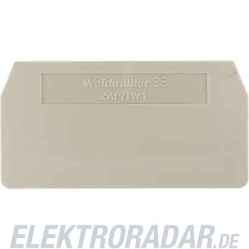 Weidmüller Abschlussplatte ZAP ZDU 4 S BL