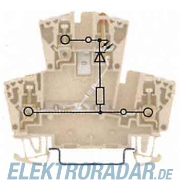 Weidmüller Klemme mit Einbau WDK 2.5 LD GR1R24VDC