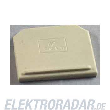 Weidmüller Abschlussplatte AP SAKK4/10 KER/WS