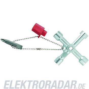 Weidmüller Schaltschrankschlüssel Cross-Key Universal