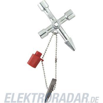 Weidmüller Schaltschrankschlüssel CROSS-KEY-MASTER