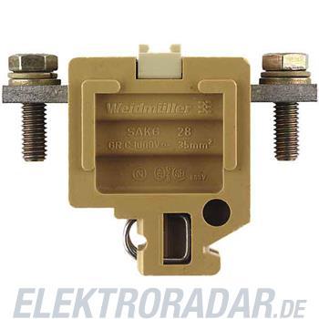 Weidmüller Reihenklemme SAKG 28 II/GW