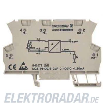 Weidmüller RTD-Temperaturwandler MCZ PT100/3CLP0-100C