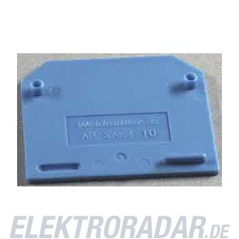 Weidmüller Abschlußplatte AP SAK4-10 BL