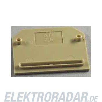 Weidmüller Abschlußplatte AP SAK2.5