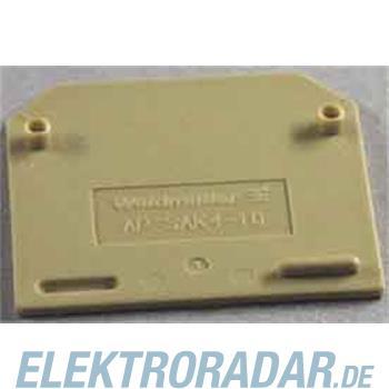 Weidmüller Abschlußplatte AP SAK4-10