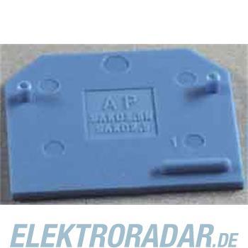 Weidmüller Abschlußplatte AP SAKD2.5N BL