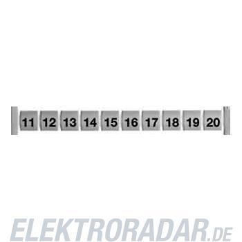 Weidmüller Klemmenmarkierer DEK 5 FWZ 11-20