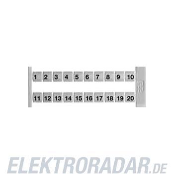 Weidmüller Klemmenmarkierer DEK 6 FWZ 1-10
