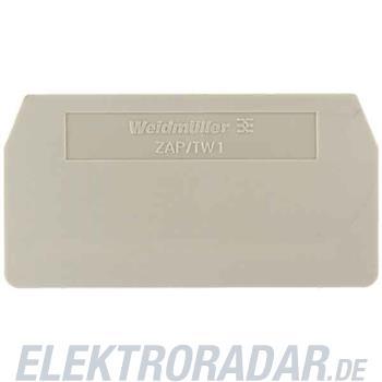 Weidmüller Abschlußplatte ZAP/TW 1