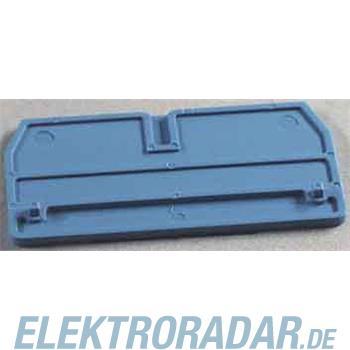 Weidmüller Abschlußplatte ZAP/TW 1 BL