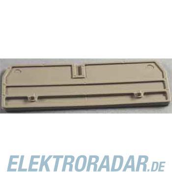Weidmüller Abschlußplatte ZAP/TW 3