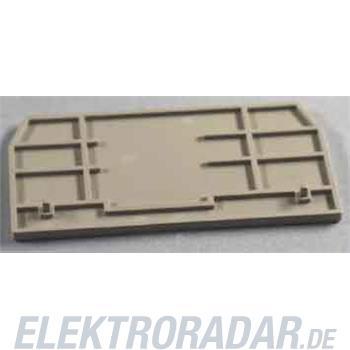 Weidmüller Abschlußplatte ZAP/TW ZDU16