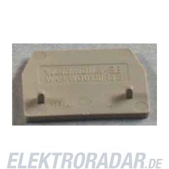 Weidmüller Abschlußplatte WAP WDU1.5/R3.5